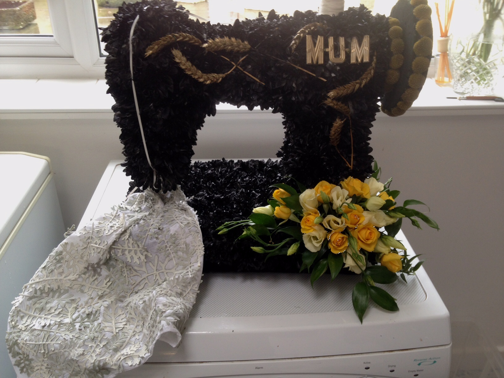 Funeral loubee blooms florist i will also liaise with the funeral directors on the best time to deliver your flowers so you havent got to worry izmirmasajfo